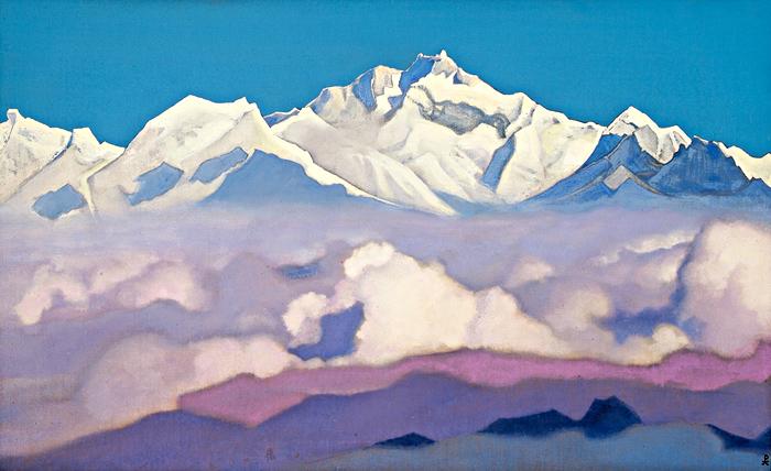 Н.К. Рерих. Эверест (Джомолунгма). 1935
